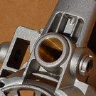 Dettaglio lavorazione su particolare per macchina elettroutensile